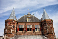 Waag in Amsterdam Royalty Free Stock Photos