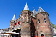 Waag in Amsterdam, Netherlands Royalty Free Stock Photo