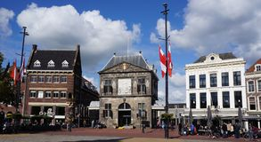 Waag building in Gouda, the Netherlands Stock Photo