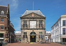 Waag - een kaas wegend huis in Gouda, Nederland Royalty-vrije Stock Afbeeldingen