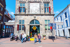 The Waag in Gouda, The Netherlands Stock Photography