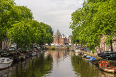 The Waag (weigh house) in Amsterdam Royalty Free Stock Photography