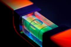 Waagerecht ausgerichtete Luftblase lizenzfreies stockbild