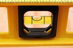 Waagerecht ausgerichteter Werkzeug-Abschluss oben Stockbild