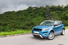 Waaier Rover Evoque 2014 Stock Fotografie