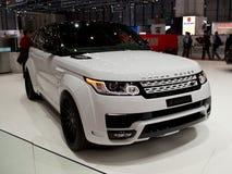 Waaier Rover Sport Geneva 2014 Royalty-vrije Stock Foto's