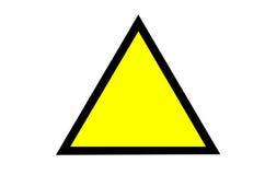 Waakzaam teken vector illustratie