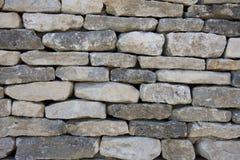 Waal de pierres sèches images stock