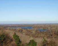 Waar de Donau de hemel kust Royalty-vrije Stock Foto