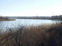 Waar de Donau de hemel kust Royalty-vrije Stock Foto's