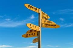 Waar gaan wij? Stock Fotografie