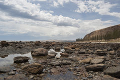 Waar Normanville Wirrina-Inham ontmoet, Zuid-Australië Royalty-vrije Stock Foto's