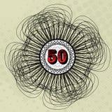 Waarde 50 vector illustratie