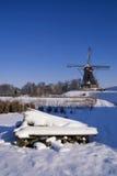Waardenburg-Windmühle Stockfotos