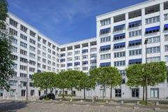 Waardig flatgebouw het Koninklijke Entrepot in het stadscentrum van Antwerpen, België Stock Afbeelding