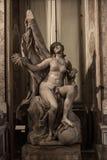Waarheid tegen Tijd door Gian Lorenzo Bernini wordt onthuld dat Royalty-vrije Stock Foto's
