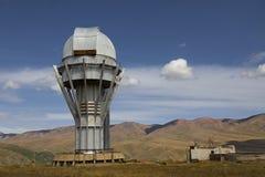 Waarnemingscentrum in Assy Plateau, Alma Ata, Kazachstan stock afbeelding