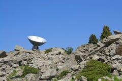 Waarnemingscentrum in bergen Stock Afbeeldingen