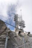 Waarnemingscentrum op Onderstel Titlis, Zwitserland Royalty-vrije Stock Fotografie