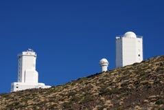 Waarnemingscentrum Tenerife stock foto