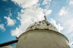 Waarnemingscentrumkoepel met telescoop Royalty-vrije Stock Foto