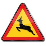 Waarschuwende dierlijke kruising vector illustratie