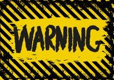 waarschuwing Stock Foto