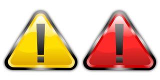 Waarschuwingssein vector illustratie