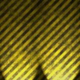 Waarschuwingssein op asfalt 2 Stock Afbeeldingen