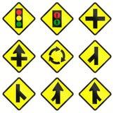 Waarschuwingsverkeersteken in Indonesië vector illustratie