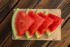 Waater melon slices Royalty Free Stock Image
