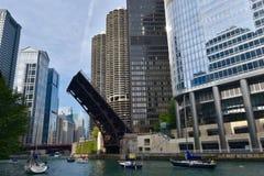 Wabash-Alleen-Brücke Lizenzfreie Stockbilder