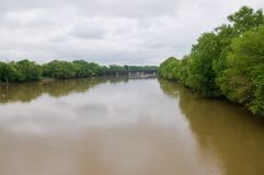 Wabash River Royalty Free Stock Photos