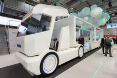 WABCO Smart Truck at the IAA Stock Photo