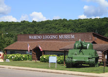 Wabeno Logging Museum Building Royalty Free Stock Image