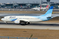 5A-WAC Buraq Air Transport, Boeing 737-4B6 Royalty Free Stock Images
