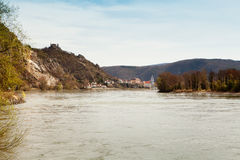 Wachau at danube river Stock Images