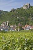 wachau duernstein стоковая фотография rf