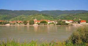 Wachau near Duernstein,Danube Valley,Austria royalty free stock photography