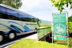 Wachau Region in Österreich Lizenzfreies Stockbild