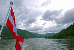Wachau-Tal Österreich Stockbild