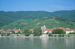 Wachau Valley,Danube River,Austria Royalty Free Stock Image