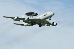 Wache AWACS-Flugzeug Boeing-E-3 lizenzfreies stockfoto