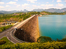 Wachilalongkorn Dam. At surajthani, Thailand Royalty Free Stock Images