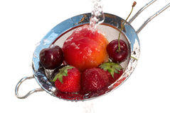 Waching fruits Stock Photo