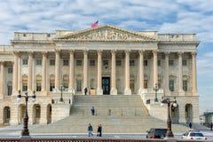 WACHINGTON, D C - 2014年1月10日:在华盛顿特区的大厦 宫殿 库存照片