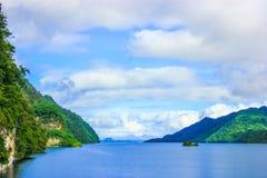 Wachirarongkorn Dam. In Kanjanaburi Thailand Royalty Free Stock Photo
