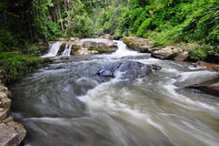 Wachiratarn rapids in Doi Inthanon Park Stock Photo