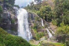 Wachirathan瀑布 库存照片