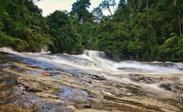 Wachirathan siklawy Doi Inthanon park narodowy, Chiang Mai, Tha zdjęcia royalty free